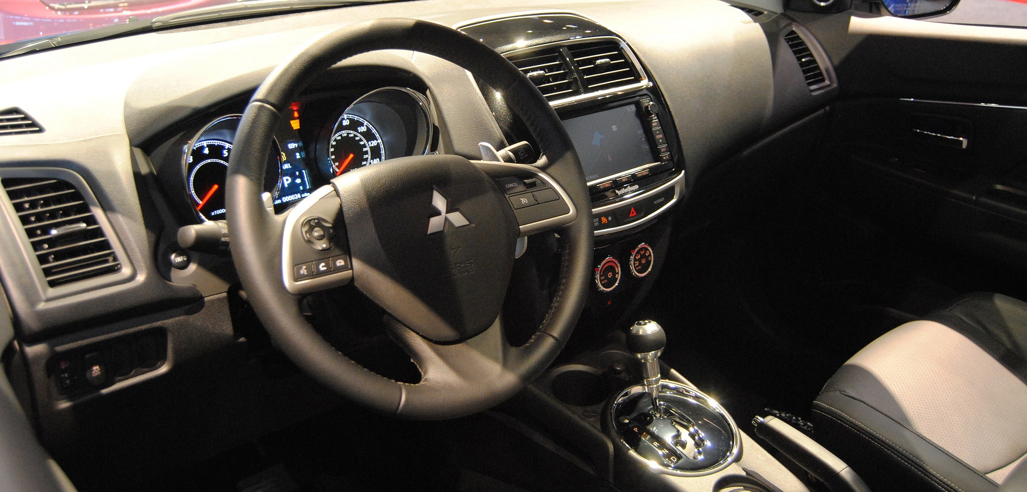 Mitsubishi Outlander Dashboard