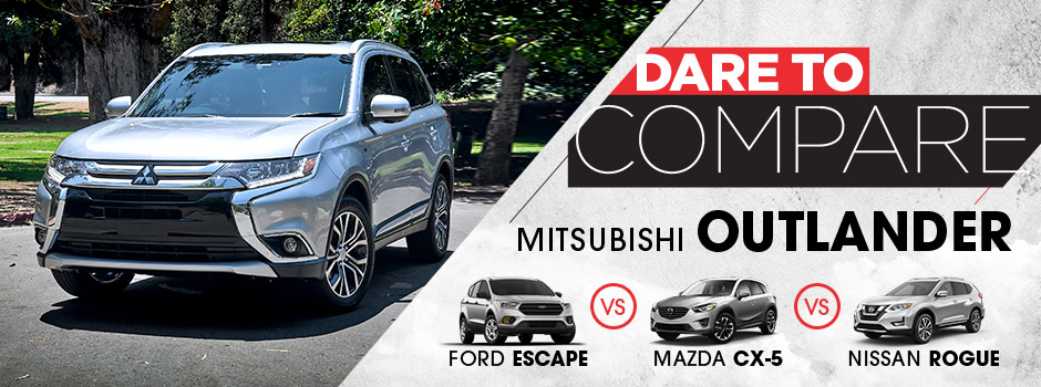 2017 mitsubishi outlander vs suv competitors st cloud mn for Don robinson motors st cloud minnesota