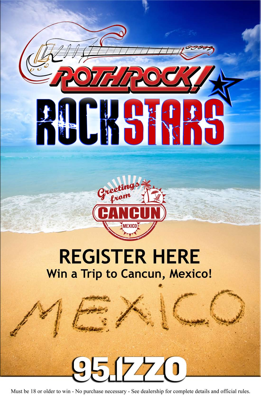 Win A Trip To Mexico - Rothrock CDJR - Allentown, PA