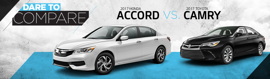 Pfeiffer Used Cars - Dare To Compare - Toyota Camry vs Honda Accord
