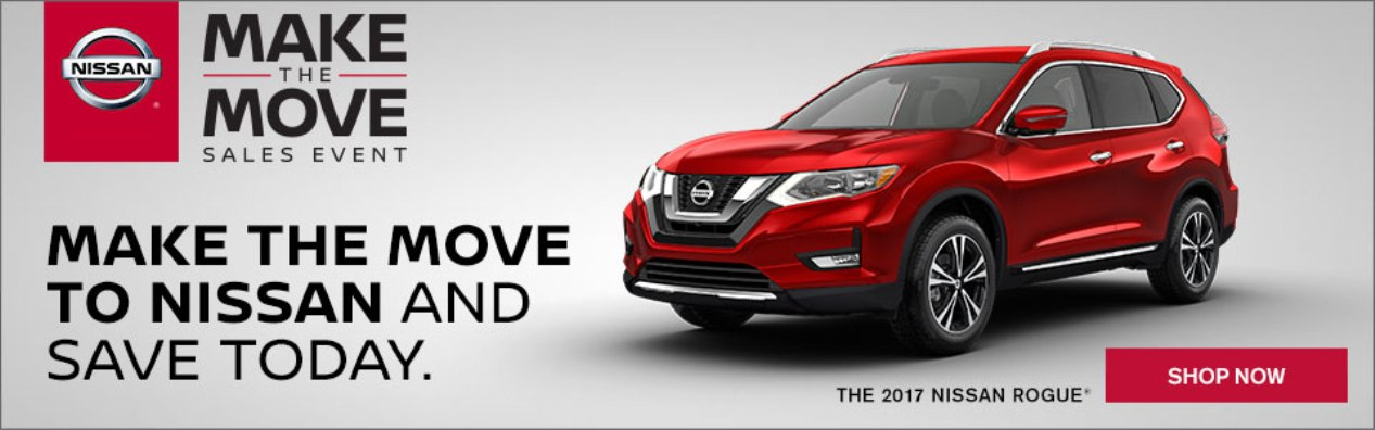 Make The Move to a Nissan Rogue