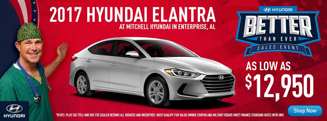 Mitchell Nissan Enterprise Al >> Enterprise, Dothan, Fort Rucker, AL Hyundai Dealer - Great Sales on Elantra, Sonata, Genesis ...