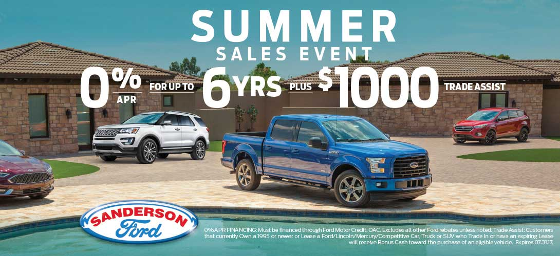 Ford Dealership Phoenix >> New and Used Ford Dealership of Phoenix, AZ | Sanderson Ford