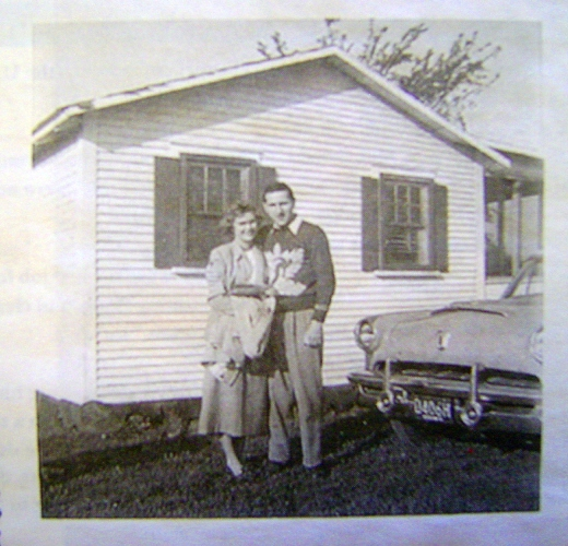 Paul and June Hurlbert 1950(2)