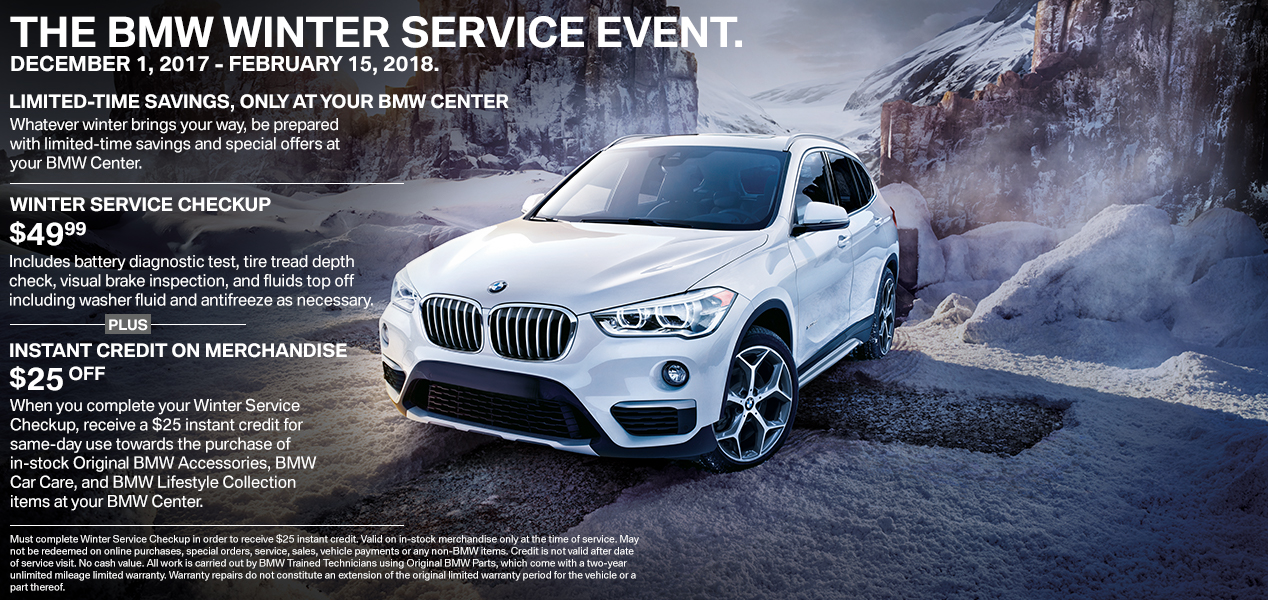 Auto Service Specials Coupons Bmw 3 Series X5 Z4