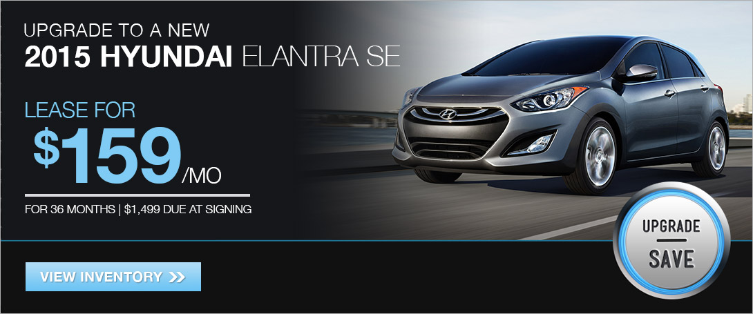 Lease the 2015 Elantra SE