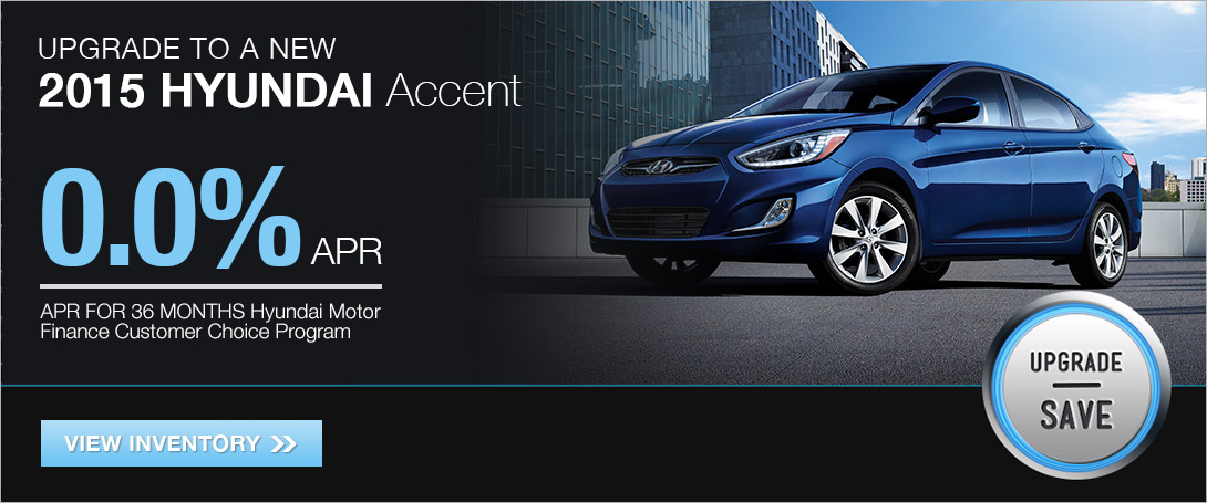 2015 Accent APR Financing