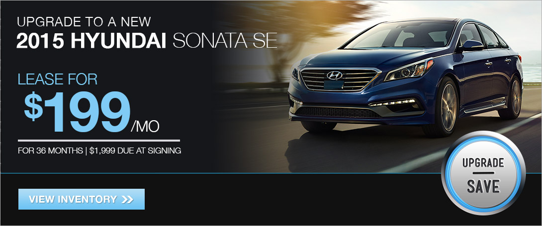 Lease the 2015 Sonata