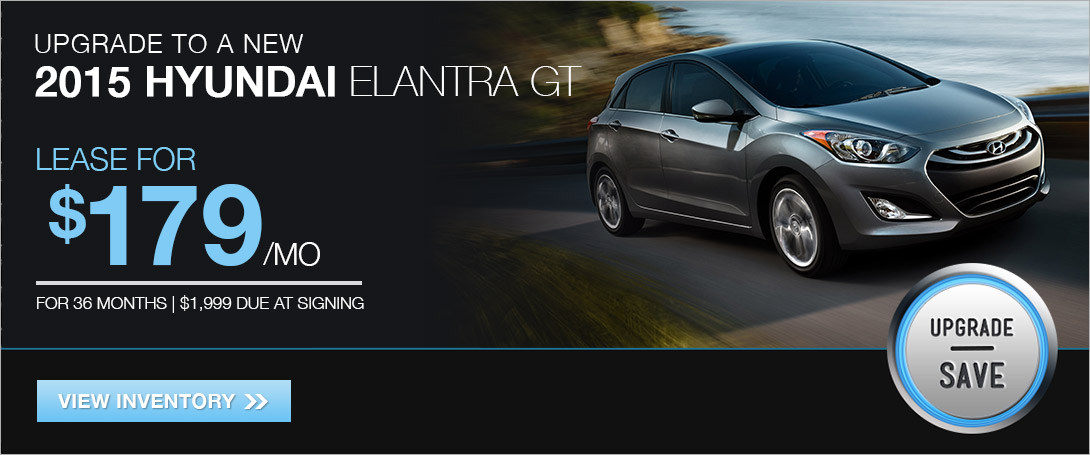 Lease the 2015 Elantra GT