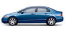 2007 Honda Civic Sedan 4dr AT LX