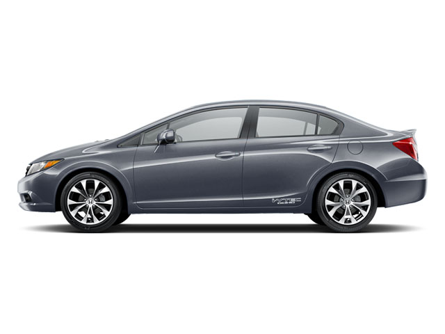 2012 Honda Civic Sedan 4dr Man Si