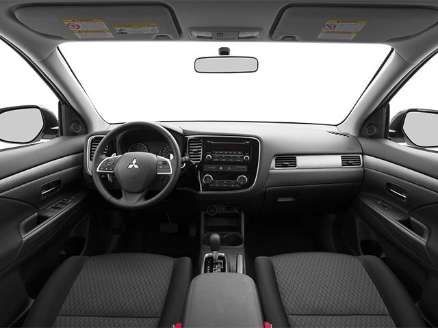 2014 mitsubishi outlander 4wd 4dr gt - Mitsubishi Outlander 2014 White
