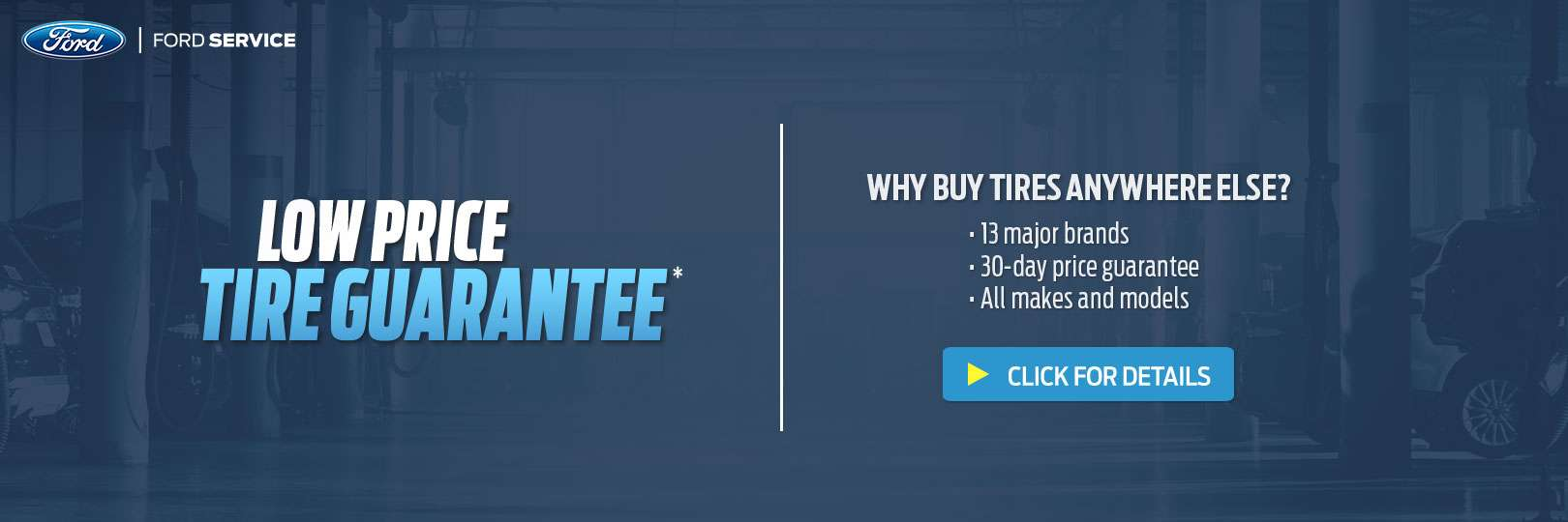 Low Price Tire Guarantee at Brown Motors Ford in Petoskey