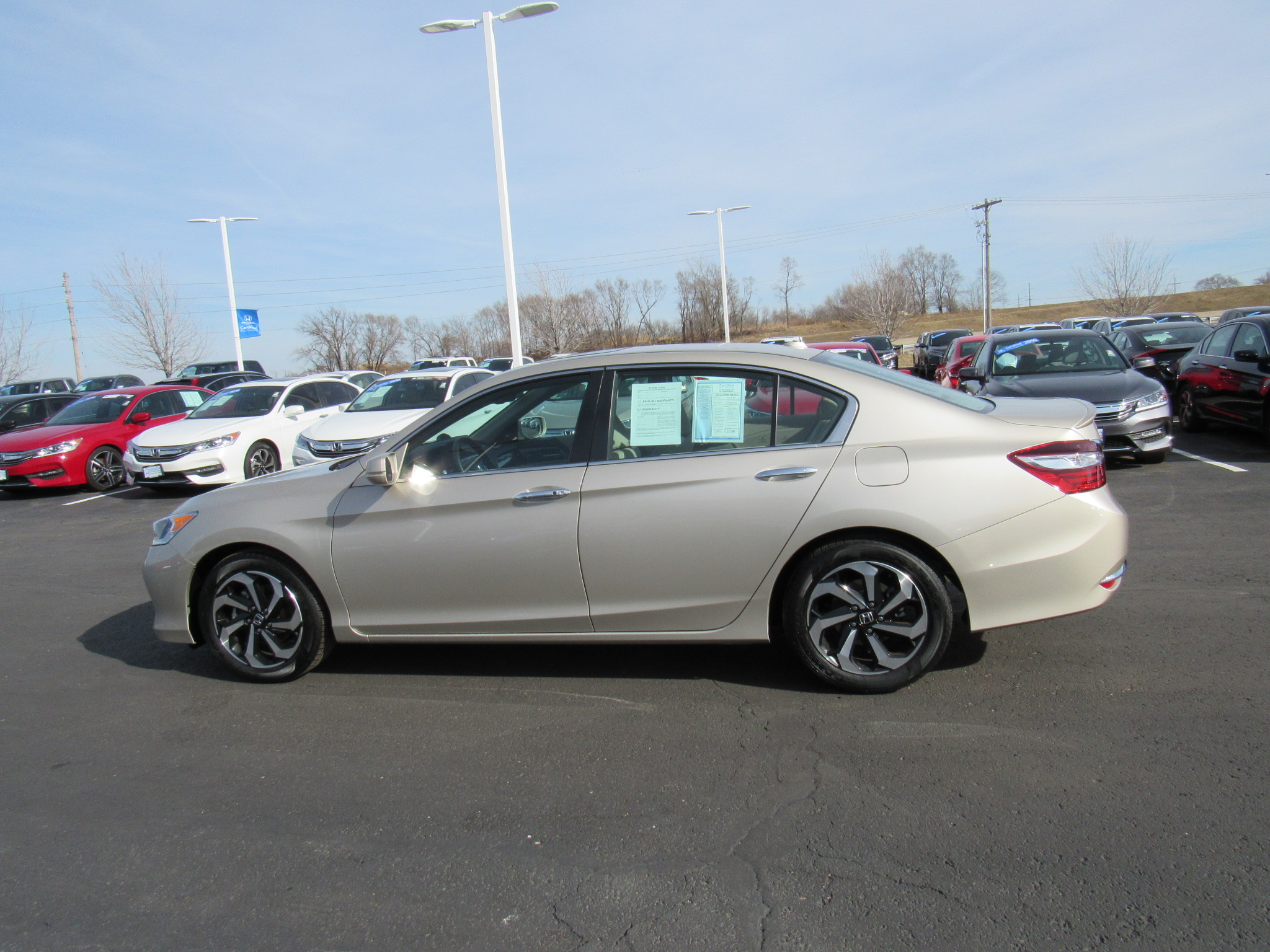 certified 2016 honda accord sedan 4dr i4 cvt ex l honda of tiffany springs kansas city mo. Black Bedroom Furniture Sets. Home Design Ideas