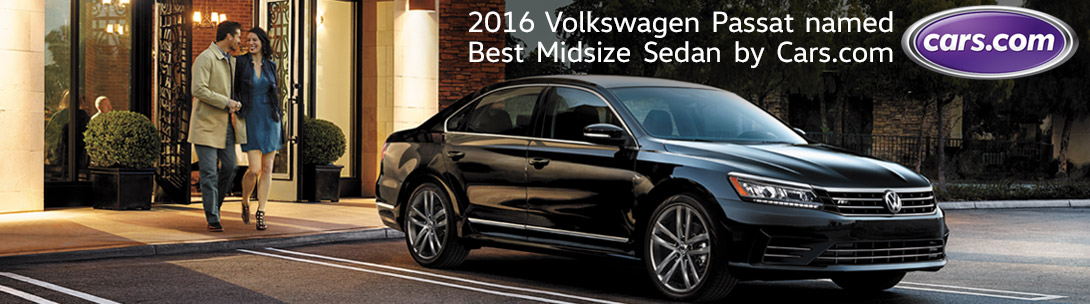 Cars.com named 2016 Volkswagen Passat best midsize sedan