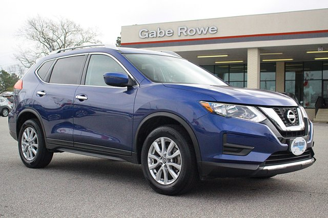 Rowes Used Cars >> 2017 Nissan Rogue Awd Sv