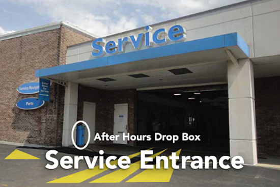After Hours Drop Box