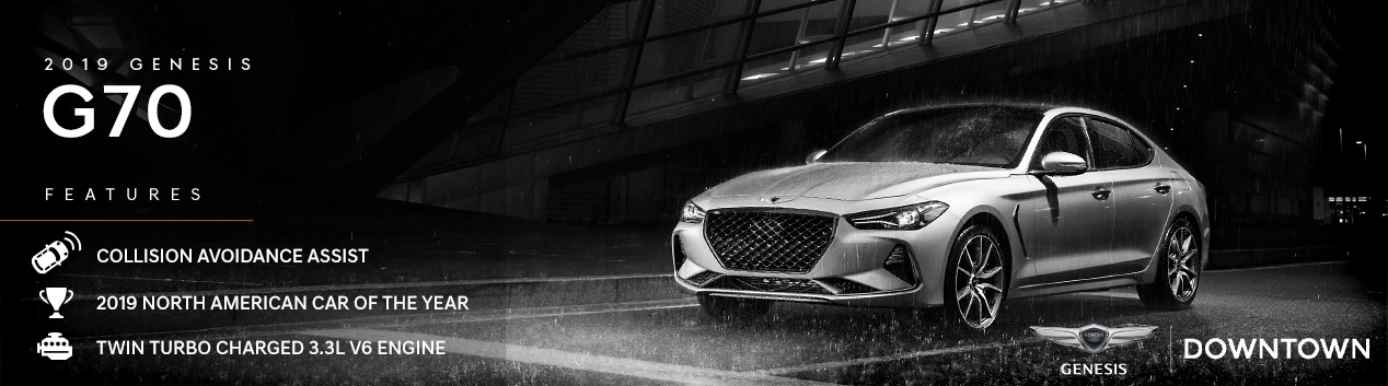 2019 Genesis G70 | Genesis Downtown | Toronto, ON