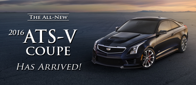 ATS-V Coupe Has Arrived