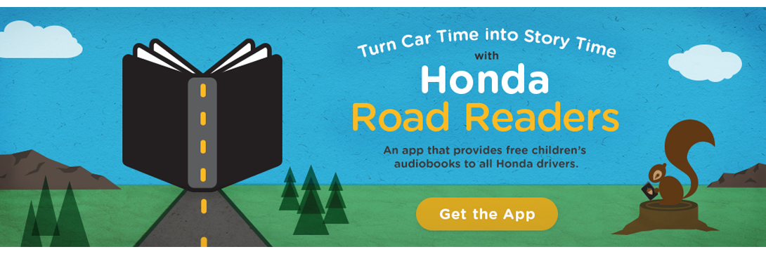 Road readers banner
