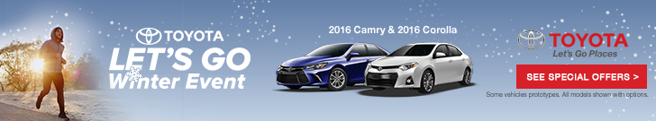 Let's Go Winter Sales Event – Camry Corolla