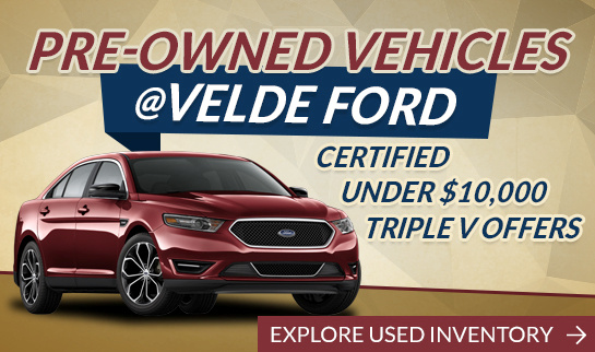 Velde Ford Pre-Owned Vehicles