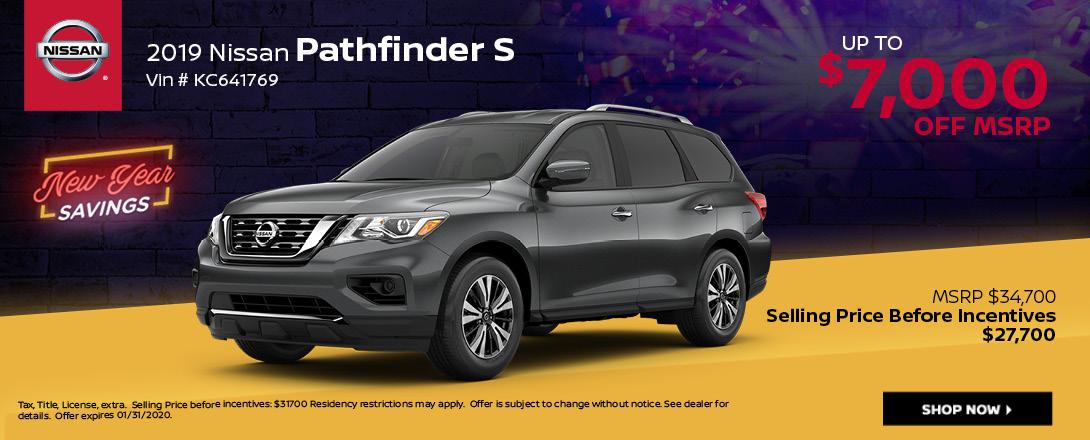 Nissan Pathfinder Deals & Offers