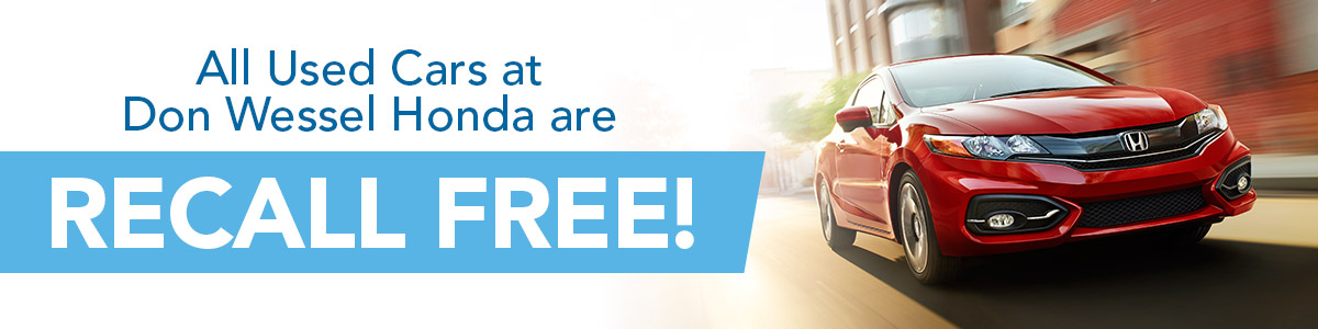 Don Wessel Honda-Recall Free-Used Car Dealerships Springfield MO