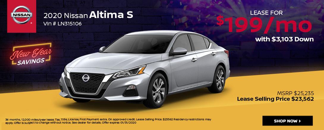 Nissan Altima Deals & Offers