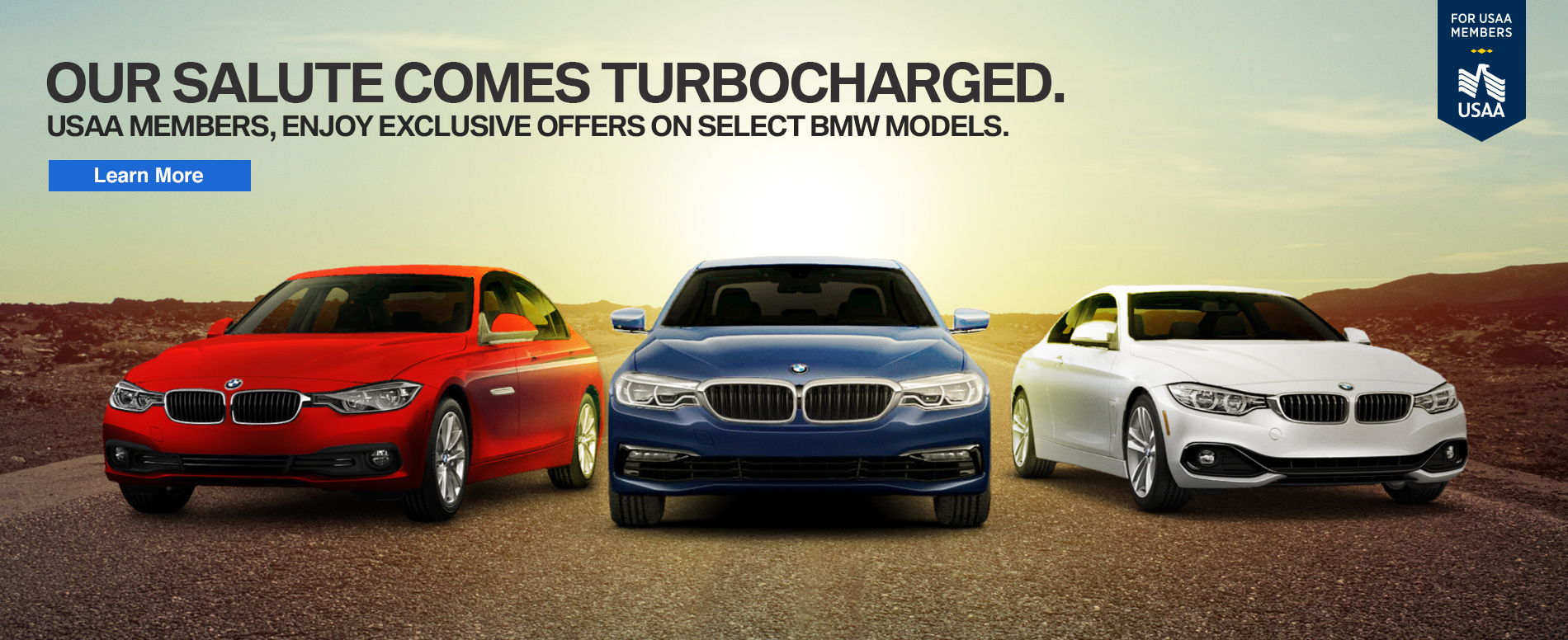 BMW USAA Military Offer