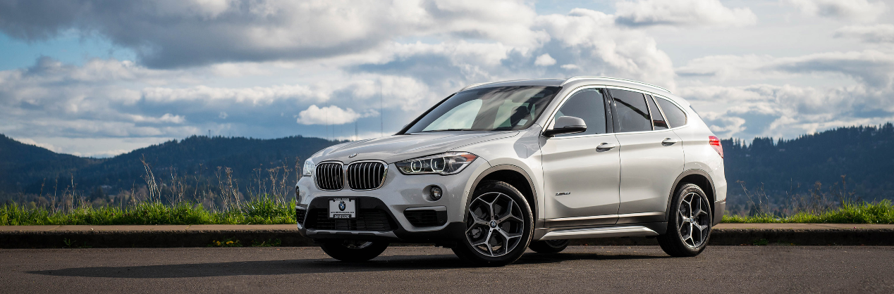 BMW-X1-Sunset