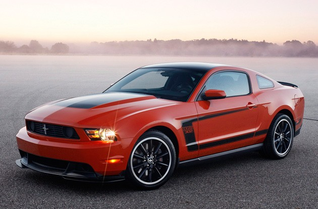 2012 Ford Mustang Boss