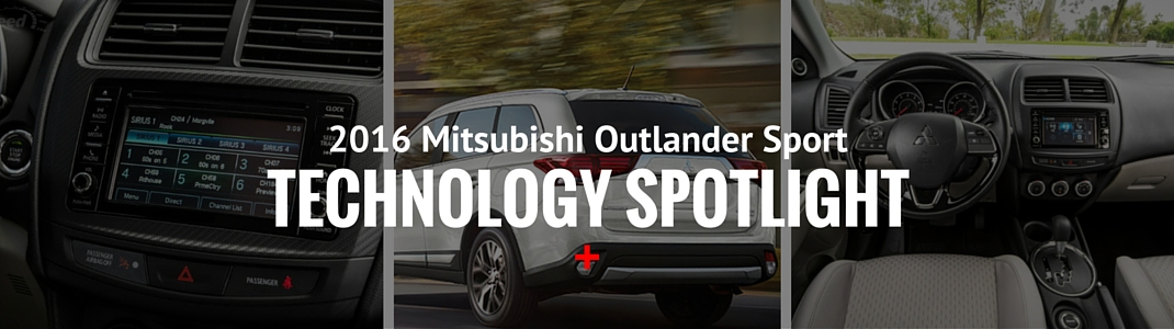 2016 Mitsubishi Outlander Sport - Technology Spotlight