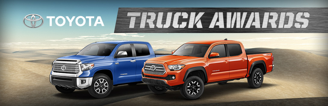 Toyota Truck Awards