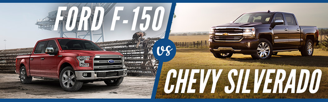 Ford F-150 vs. Chevy Silverado