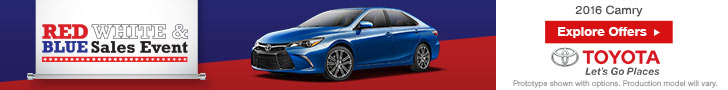 July 4th Camry Offers