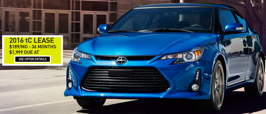 Scion tC Lease Offer
