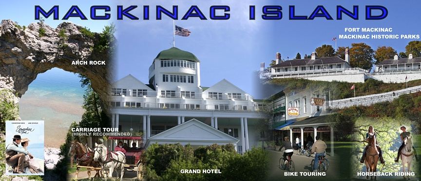 Serving Harbor Springs and Mackinac Island MI – Mackinac Island Tourist Attractions Map