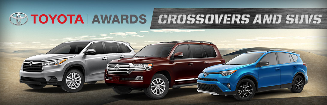 Toyota Crossover and SUV Awards