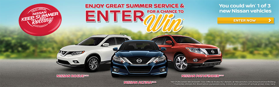 Nissan Keep Summer Rolling