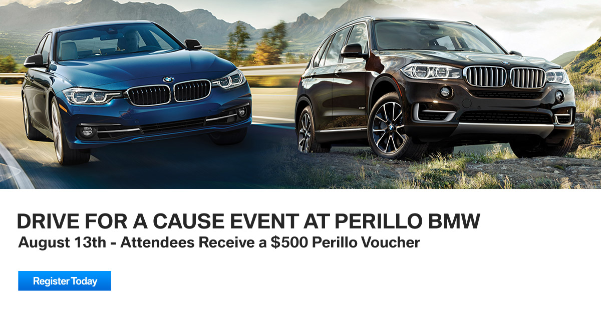Drive For A Cause Event at Perillo BMW