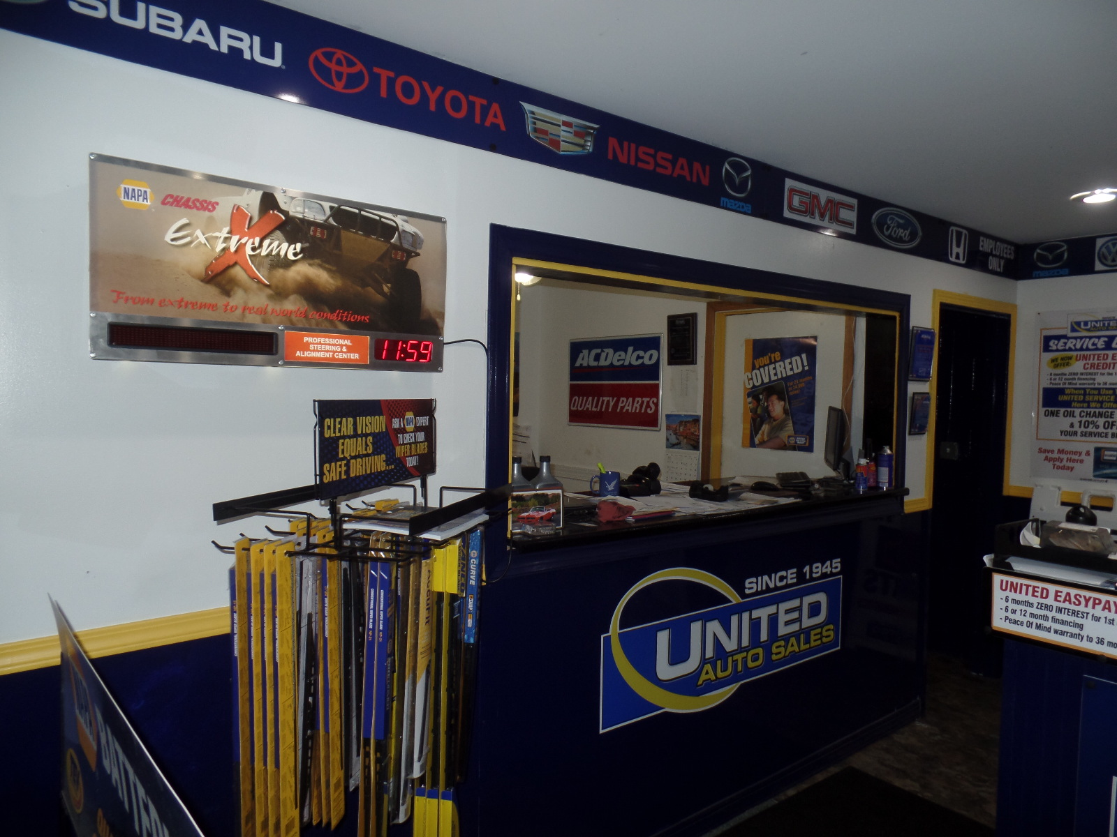 United Used Cars Service Dept