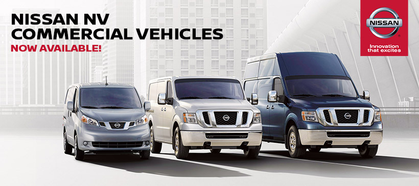 Haddad Nissan Commercial Vehicles