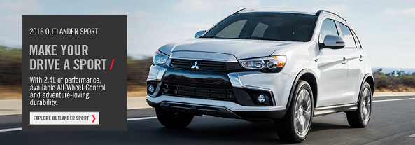 Make your drive a 2016 Outlander Sport at Biggers Mitsubishi in Elgin, IL. Click here!