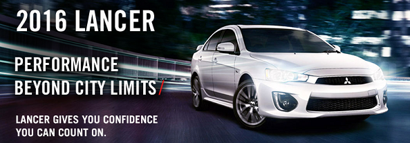 The 2016 Mitsubishi Lancer gives you confidence you can count on. Click here to view our inventory!