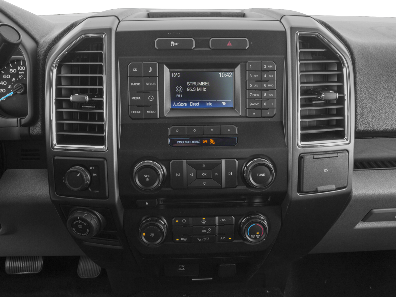 2017 Ford F-150 Console