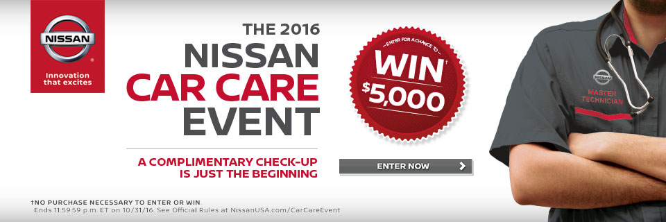 2016 Nissan Car Care Event