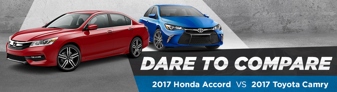 2017 Honda Accord vs. 2017 Toyota Camry - Fort Smith, AR
