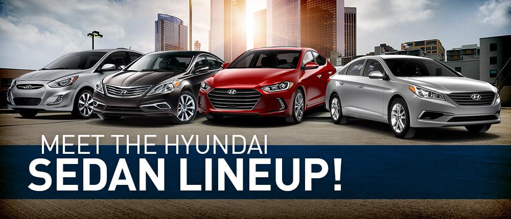 Hyundai Sedan Lineup In Memphis Tn Gossett Hyundai Mt