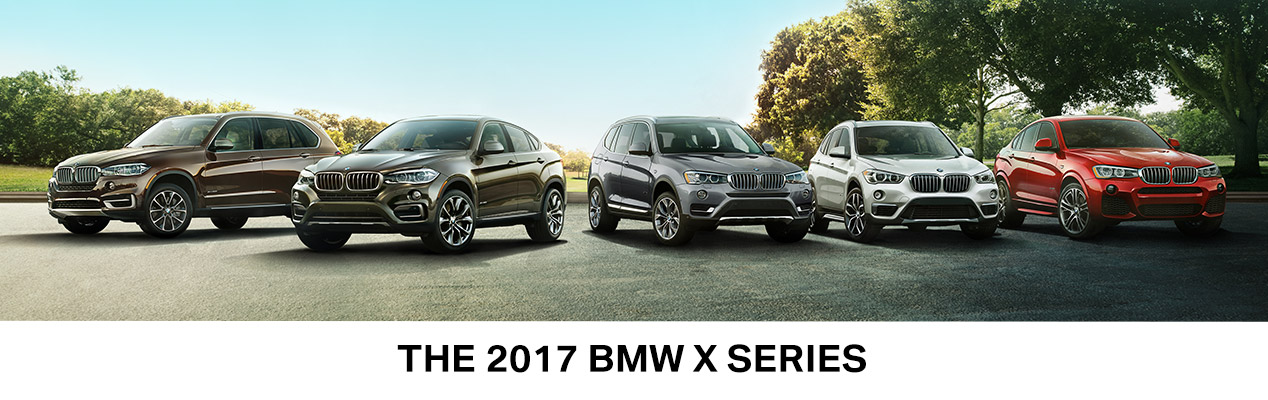 2017 bmw x series lineup perillo bmw chicago il. Black Bedroom Furniture Sets. Home Design Ideas